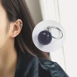 Elegant Pearl U-shaped Ear Clip Insert without Ear Piercing  1 pcs