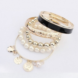 Multilayer Hollow Bracelet Bangle