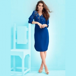 Round Bottom Georgette Party Wear Kurta