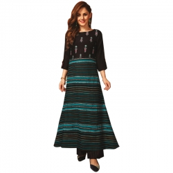 Littledesire Stylish Stripes Printed  Kurta