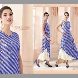 Littledesire Stylish Design Printed Long Kurta