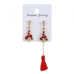 Littledesire Christmas Tree Long Earring
