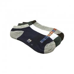 Littledesire Cotton Men Socks - 3 Pairs