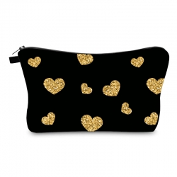 Littledesire Loving Heart Cute Cosmetic Zipper Bag