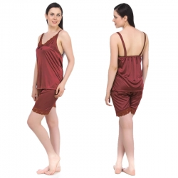 Littledesire Top and Shorts  Bow V-Neck Sleepwear