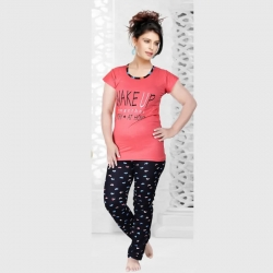 Littledesire Printed Top and Pajama Set for Women