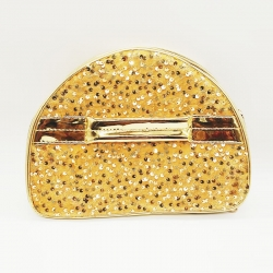 Sequins Glitter Transparent Makeup Cosmetic Bridal Bag