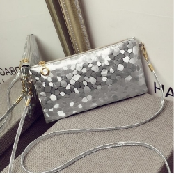 Stylish Crossbody Silver Party Sling Bags