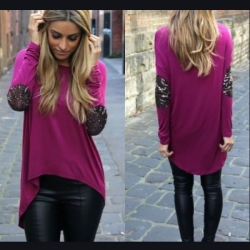 Designer Full Sleeve Loose Tops