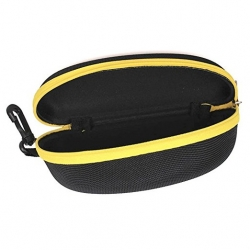 Yellow Zipper Sunglasses Case Cover
