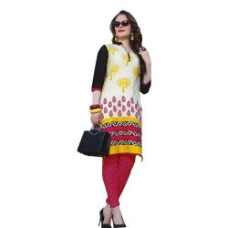 Littledesire Women Daily Wear Printed Cotton Kurta