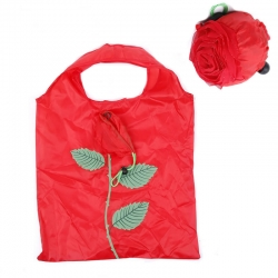 Rose Reusable Foldable Grocery Shopping Tote Bag