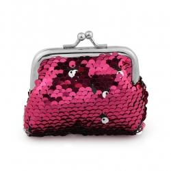 Littledesire Sequins Handy Clutch Mini Wallet - 4.5 inch