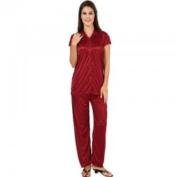 Littledesire Short Sleeve Top & Pajama Night Suit