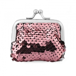 Littledesire Sequins Handy Clutch Mini Wallet - 3.5 inch