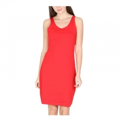 Sleeveless Women Cotton Hosiery Tanks Sleepwear Dress Nighty
