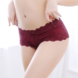 Littledesire Lace Seamless Low Waist Panty