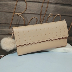 PU Leather Clutch Hasp Wallet