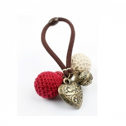 Heart Love Yarn Ball Hair Band