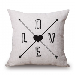 Arrow Jute Cushion Covers