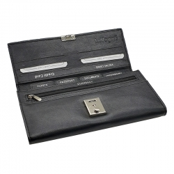 Passport Credit Card Travel Document Multi-purpose Holder Storage Organizer Clutch Wallet
