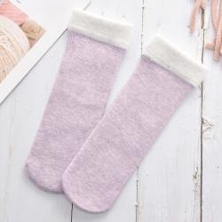 Soft Faux Fur Thermal Warm Breathable Women Winter Socks