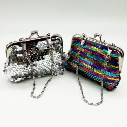 Littledesire Sequins Handy Clutch Mini Wallet 2 Pcs- 4.5 inch