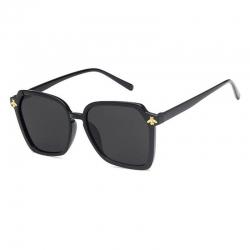 Luxury Honey Bee Oversize Square Sunglasses