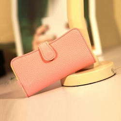 Peach Color Wallet