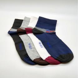 Littledesire Cotton Men Socks - 4 Pairs