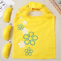 10 pcs Banana Fruit Cute Folding Shopping Bag