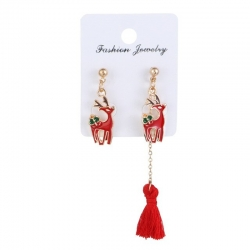 Littledesire Fashion Tassel Long Christmas Earring