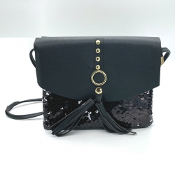 Littledesire Sequins Glitter Crossbody Sling Bag