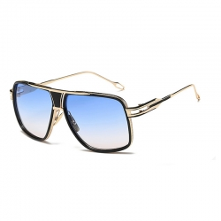 Littledesire Luxury Golden Frame Square Sunglasses