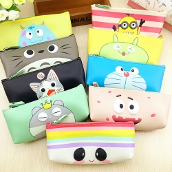 Birthday Party Return Gifts Printed Cartoon Pencil Box Random Color - 5 Pcs Lot