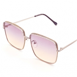 High Quality Frame With Glitter Sunglasses