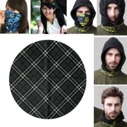 Printed Multipurpose Fashionable Headwrap Mask Scarf