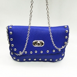 PU Leather Chain Shoulder Messenger Sling Bag
