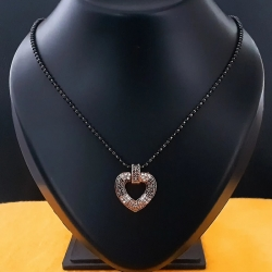 Beautiful CZ Heart Shape Mangalsutra