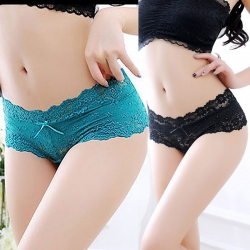 Littledesire Lace Seamless Low Waist Panty Pack of 2