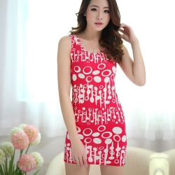 Fashion Slim Super Elastic Night Dress