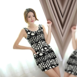Fashion Slim Super Elastic Dress