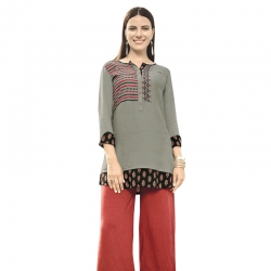 Littledesire Embroidered Work Short Kurti
