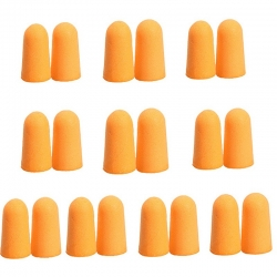 Littledesire Soft Foam Ear-Plug Tapered Travel Sleep 10Pairs