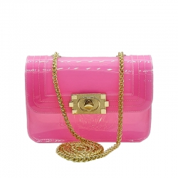 Littledesire Cute Candy Color Jelly Bag - 8 inch