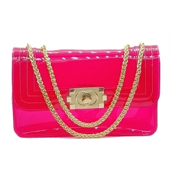 Littledesire Cute Candy Color Jelly Bag - 9 inch
