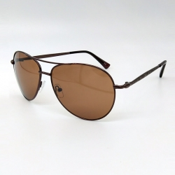 Littledesire Unisex Brown Aviator Sunglasses