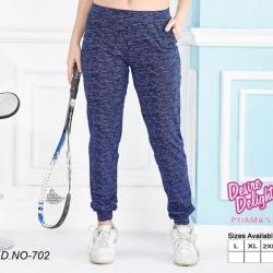 Littledesire Cotton Women Blue Pajama