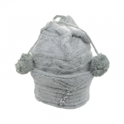 Fashion Warm Wool Knit Pom Pom Winter Cap