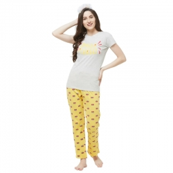 Cotton Top & Pajama Night Suit